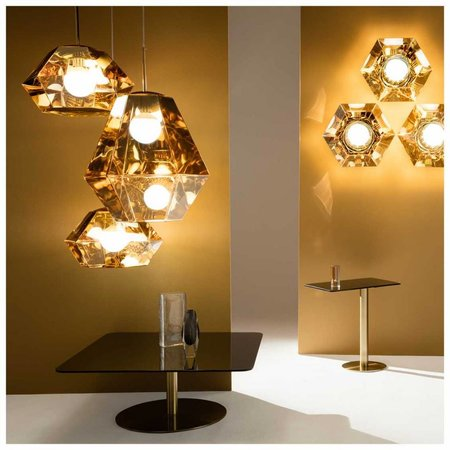 TOM DIXON CUT SURFACE WALL/ CEILING LAMP