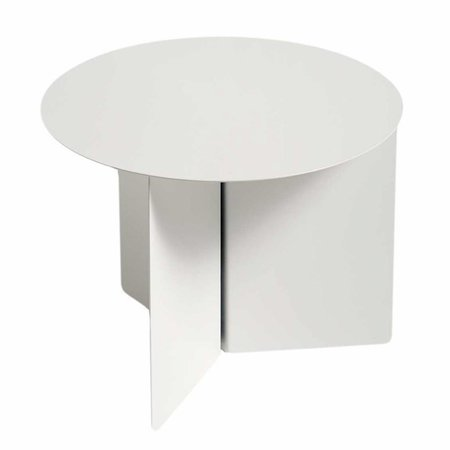 HAY SLIT ROUND SIDE TABLE