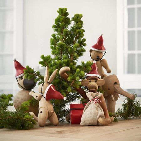 KAY BOJESEN DESIGN SANTA'S CAP MONKEY  - Mini