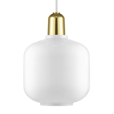 NORMANN COPENHAGEN AMP LAMP SMALL BRASS