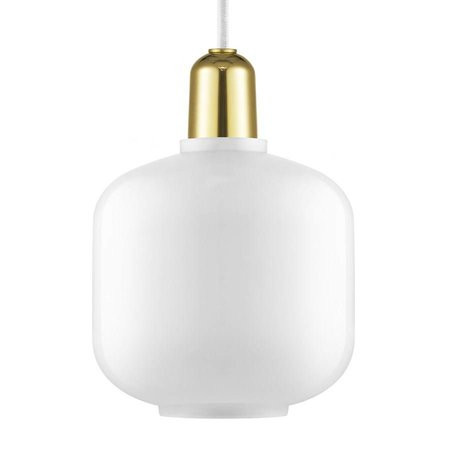 NORMANN COPENHAGEN DESIGN AMP LAMP SMALL BRASS