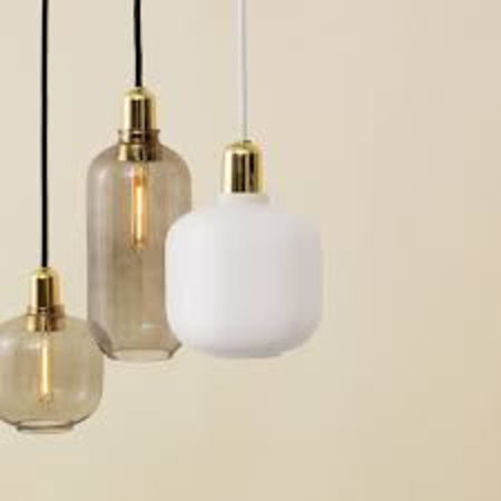 NORMANN COPENHAGEN  AMP HANGLAMP SMALL  MESSING