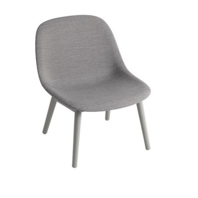 MUUTO FIBER LOUNGE CHAIR WOODBASE