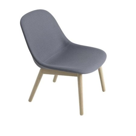 MUUTO DESIGN FIBER LOUNGE CHAIR WOODBASE
