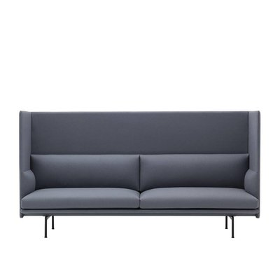 MUUTO OUTLINE 3 ZITSBANK,  HIGHBACK