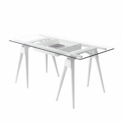 DESIGN HOUSE STOCKHOLM ARCO DESK TABLE WHITE