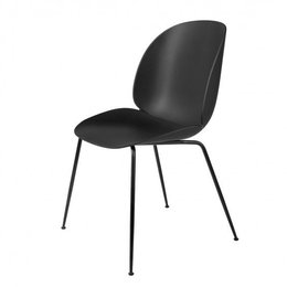 GUBI BEETLE CHAIR, CHROME BASE