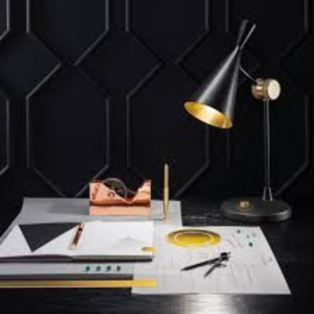 TOM DIXON DESIGN BEAT TABLE LAMP BRASS