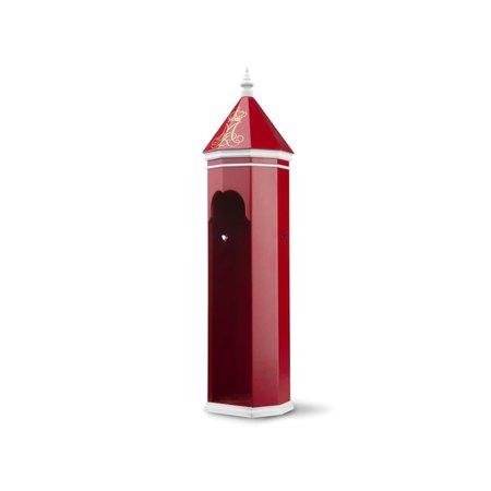 KAY BOJESEN SENTRY BOX RED/WHITE, 36 CM X 10 CM
