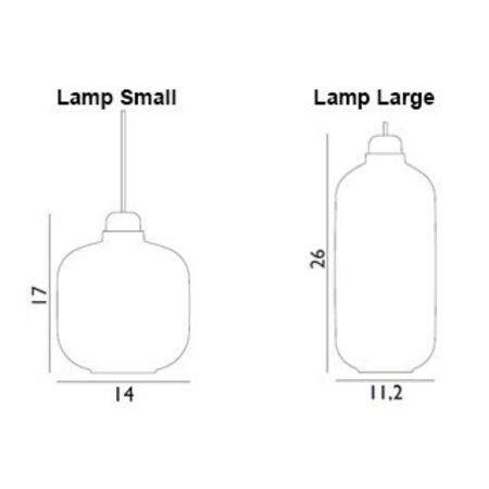 NORMANN COPENHAGEN AMP HANGLAMP  SMALL