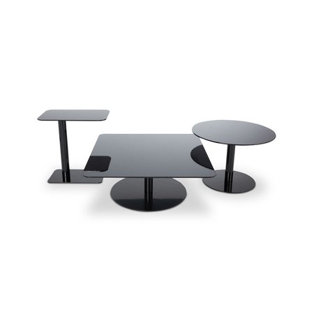 TOM DIXON FLASH TABLE CIRCLE BLACK