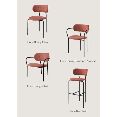 GUBI GUBI COCO BAR STOOL