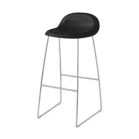 GUBI 3D BARSTOOL  SLED BASE CHROMED