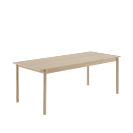 MUUTO LINEAR WOOD TABLE 140 CM.