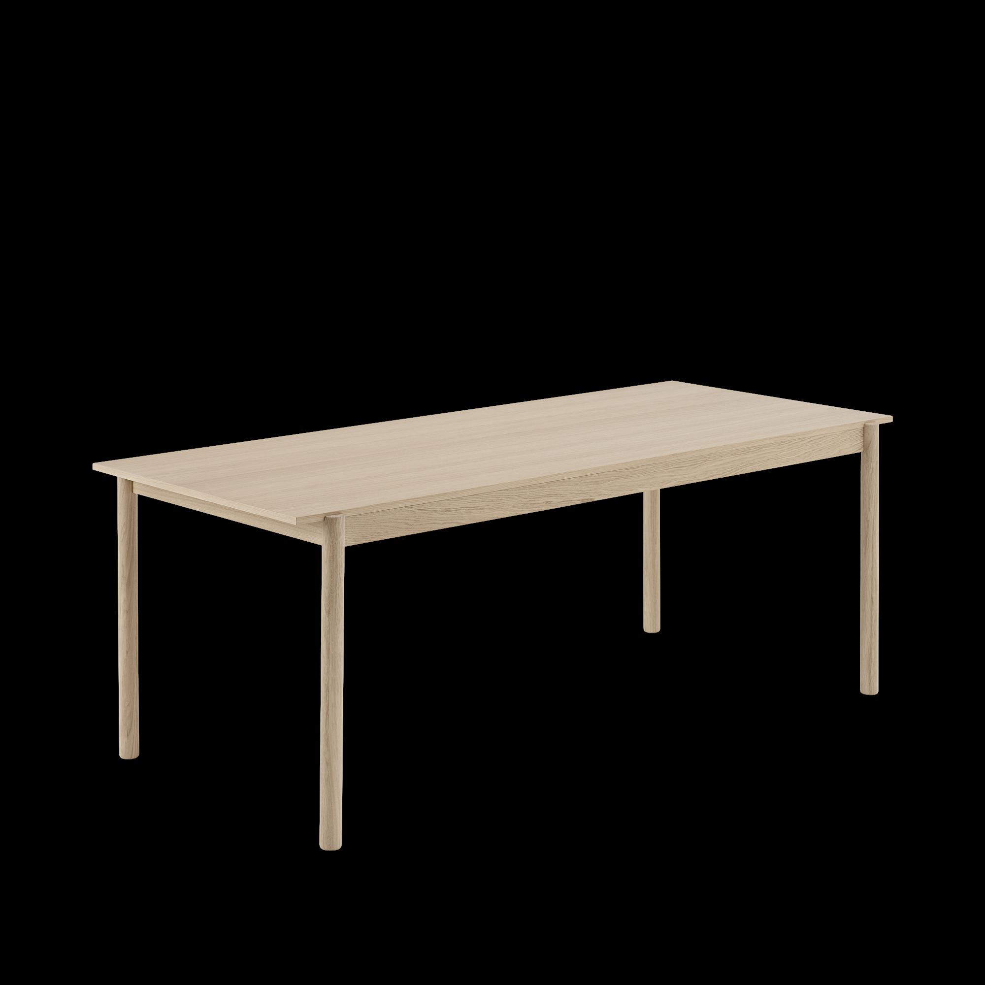 Woood Eettafel Bankje.Linear Wood Eettafel