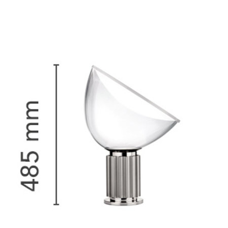 FLOS  TACCIA TABLE LAMP SMALL GLASS/ LED W16