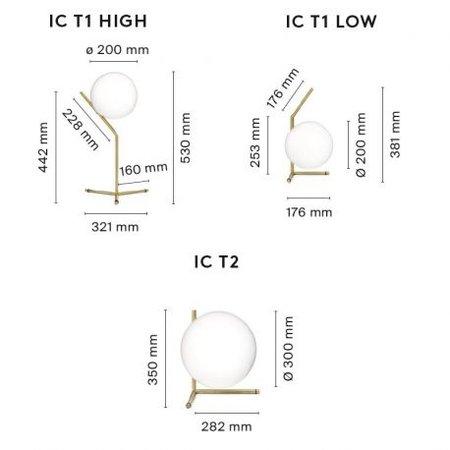 FLOS  IC LIGHTS T2 TABLE LAMP