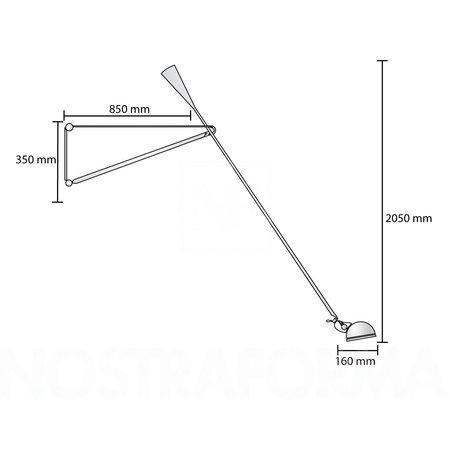 FLOS FLOS 265 WALL LAMP