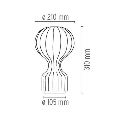 FLOS GATTO PICCOLO TABLE LAMP