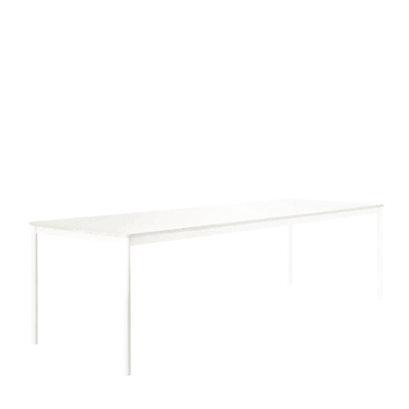MUUTO BASE TABLE WHITE LAMINATE - MULTIPLEX
