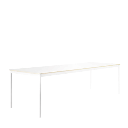MUUTO MUUTO BASE TABLE WHITE  - LAMINAAT/ MULTIPLEX