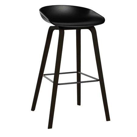 HAY AAS 32 STOOL BLACK STAINED 64 CM.