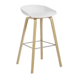 HAY AAS 32 STOOL WATER BASED LACQUERED - 74 CM.