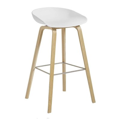 HAY AAS 32 STOOL WATER BASED LACQUERED 64 CM.
