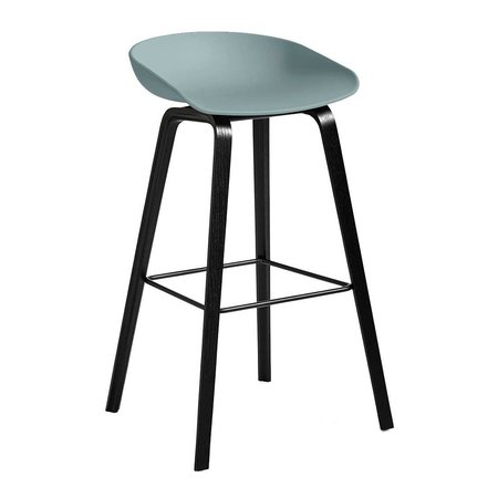 HAY AAS 32 STOOL BLACK STAINED 74 CM.