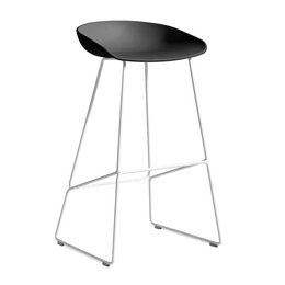 HAY AAS 38 BAR STOOL WHITE STEEL 64 CM.