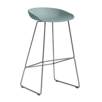 HAY AAS 38 BAR STOOL STAINLESS STEEL 74 CM.