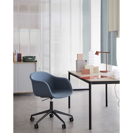 MUUTO FIBER ARMCHAIR SWIVEL BASE W. GASTORS&GAS LIFT