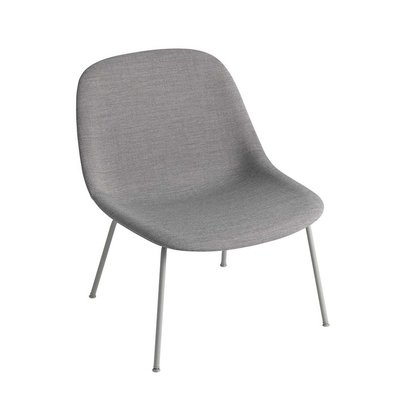 MUUTO FIBER LOUNGE CHAIR TUBE BASE UPHOLSTERED