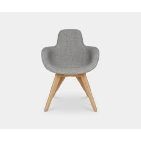 TOM DIXON SCOOP HIGH CHAIR WOODBASE
