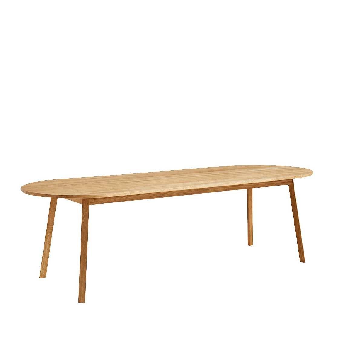 Wit Bankje Eettafel.Haytriangle Leg Bench Nordic New