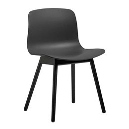HAY AAC 12  CHAIR, BLACK STAINED