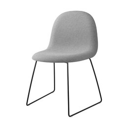 GUBI 3D CHAIR SLED UPHOLSTERED