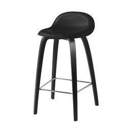 GUBI 3D BAR STOOL BLACK BEECH 65