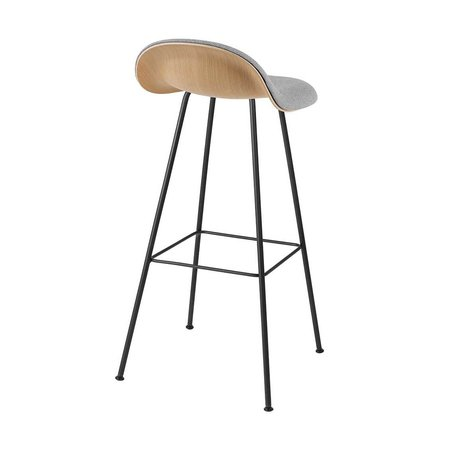 GUBI 3D BAR STOOL TUBE UPHOLSTERED