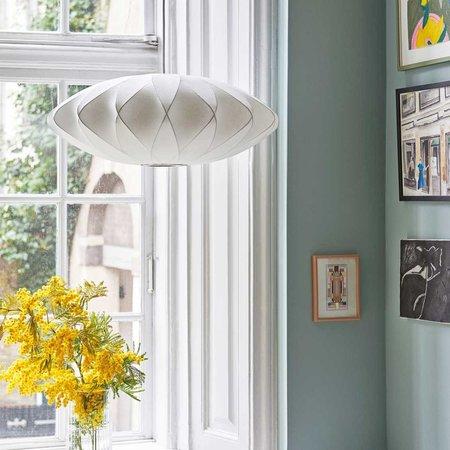 HAY NELSON SAUCER CRISSCROSS BUBBLE HANG LAMP