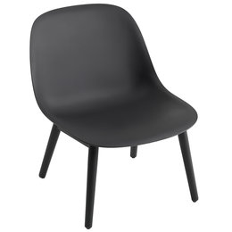 MUUTO FIBER LOUNGE CHAIR - WOOD BASE