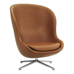 NORMANN COPENHAGEN HYG  CHAIR  UP- SWIVEL ALU