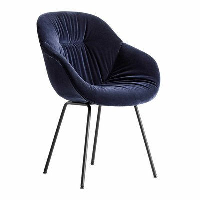 HAY AAC 127 soft upholstered chair - tube base