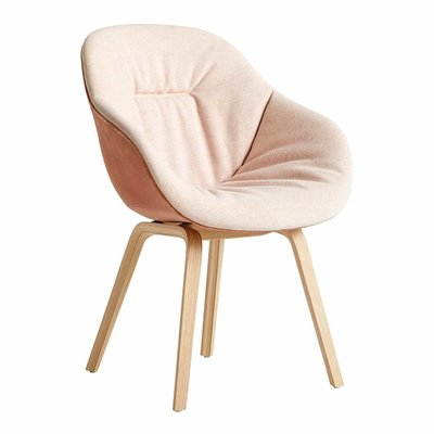 HAY AAC 123 SOFT DUO CHAIR, UPH. WOOD BASE
