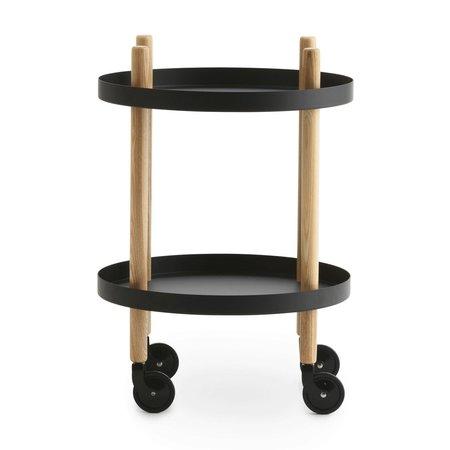 NORMANN COPENHAGEN DESIGN BLOCK TABLE - ROUND