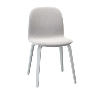 MUUTO VISU CHAIR  WOOD BASE - UPHOLSTERED
