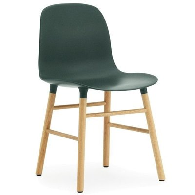 NORMANN COPENHAGEN FORM CHAIR OAK BASE