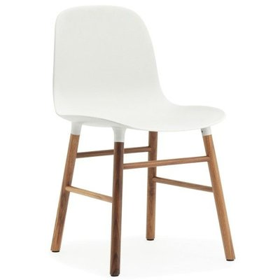 NORMANN COPENHAGEN FORM CHAIR WOOD, WALNUT BASE
