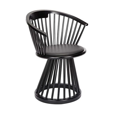 TOM DIXON  FAN DINING CHAIR