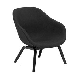HAY AAL 83 LOUNGE FAUTEUIL HOUTEN TAPERED VOET